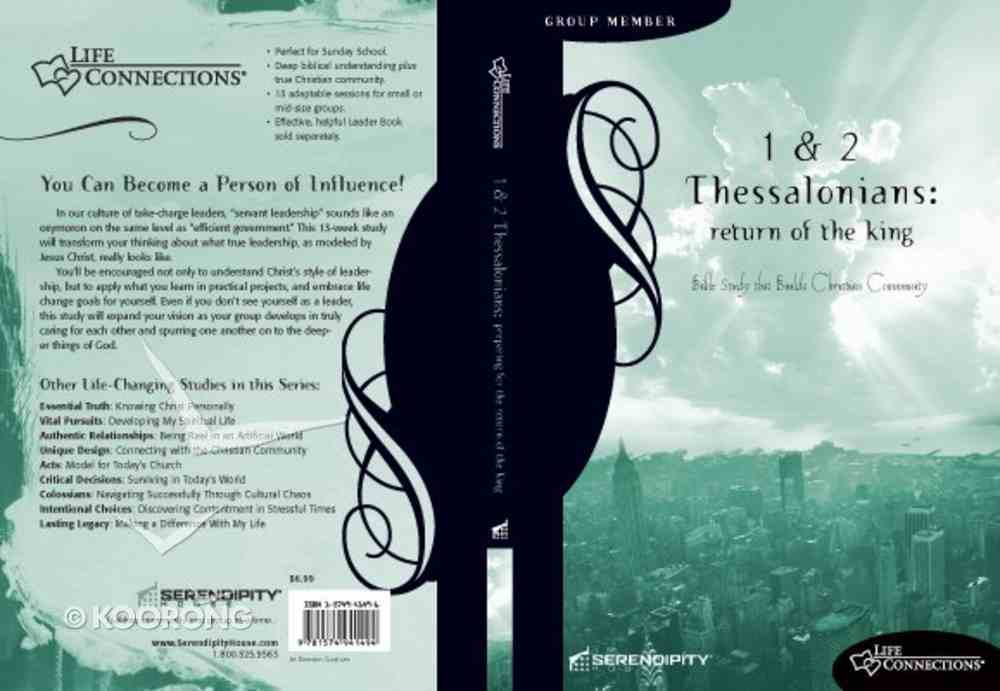 1&2 Thessalonians (Student Guide) (Life Connections Series) Paperback