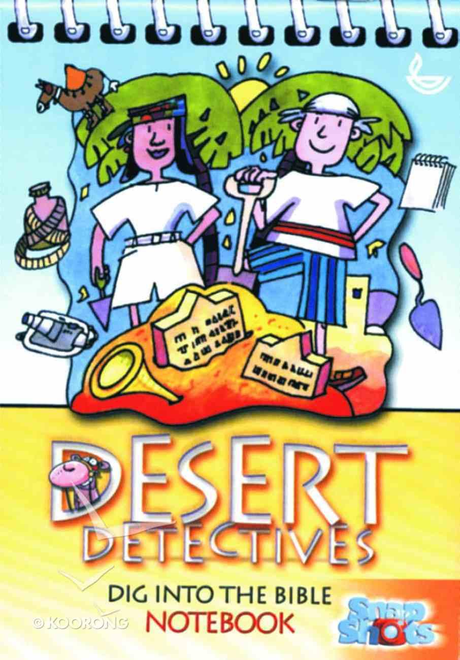 Desert Detectives Notebook Paperback