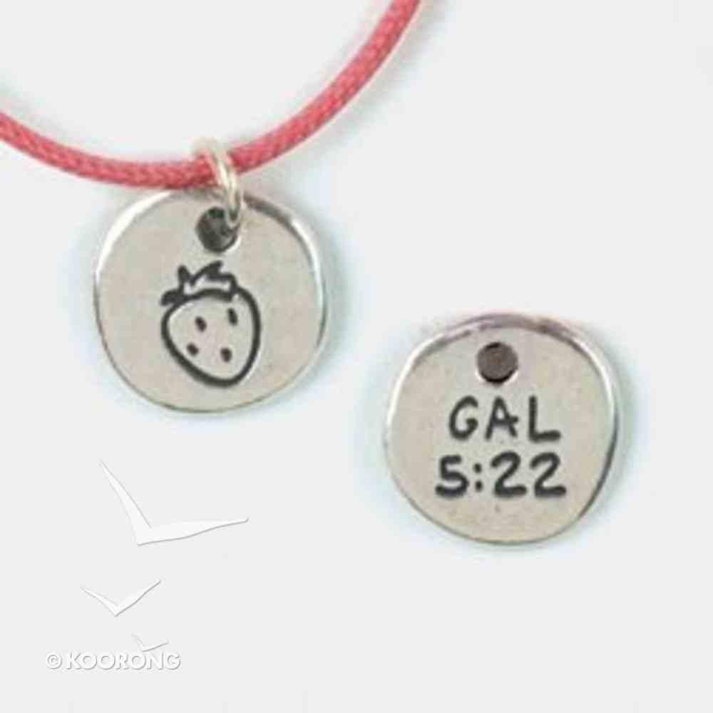 Symbols of Faith Pendant: Fruit Galatians 5:22 Jewellery