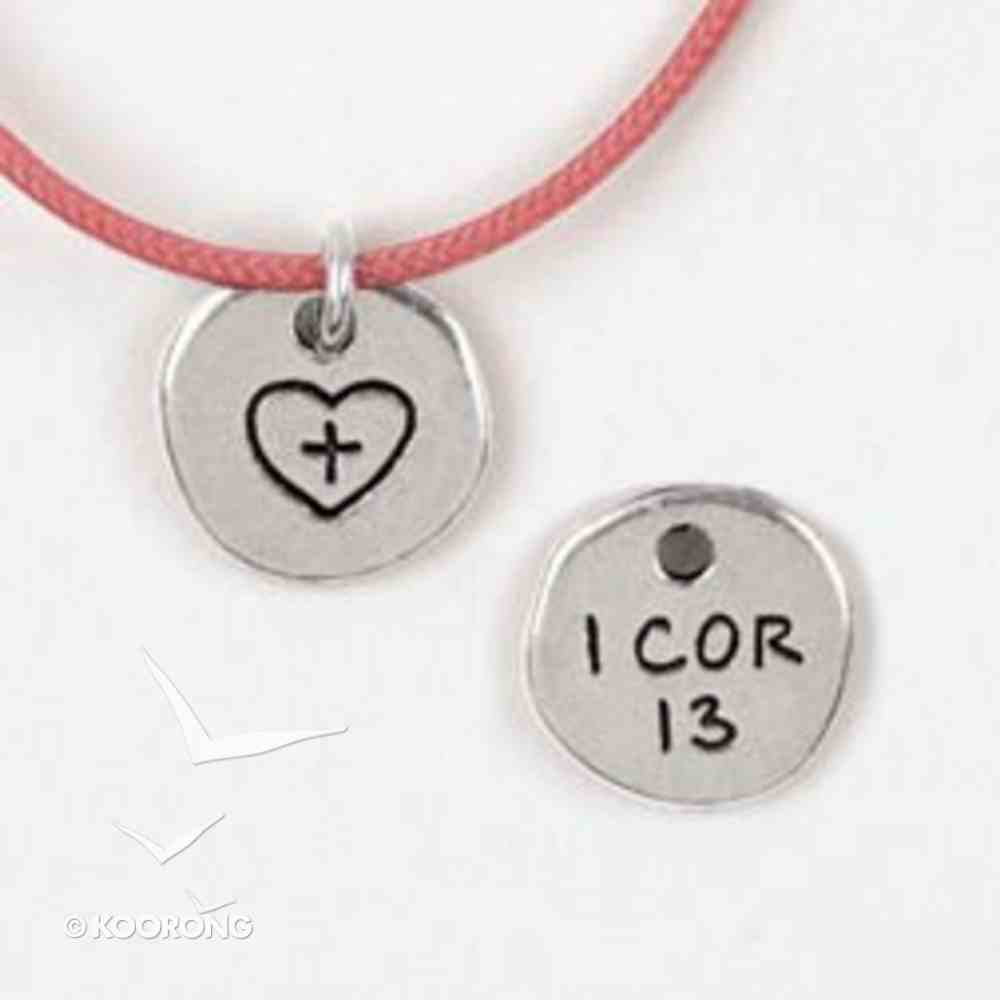 Symbols of Faith Pendant: Heart 1 Corinthians 13 Jewellery