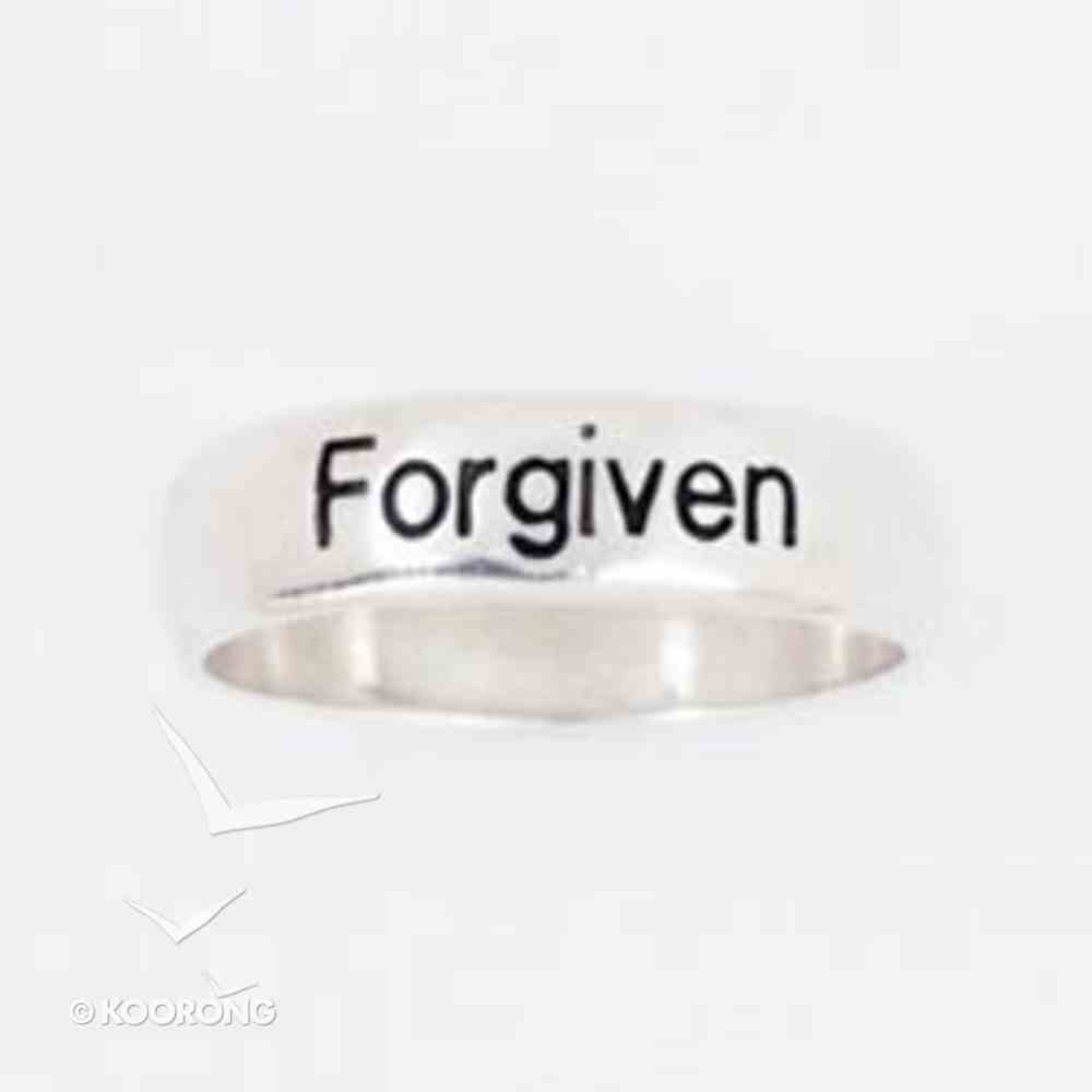 Ring: Forgiven Size 07 Sterling Silver Jewellery