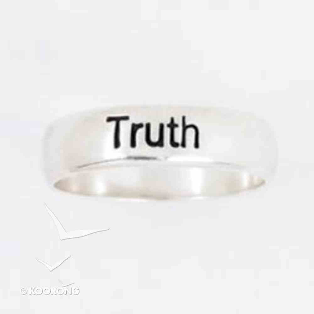 Ring: Truth Size 05 Sterling Silver Jewellery