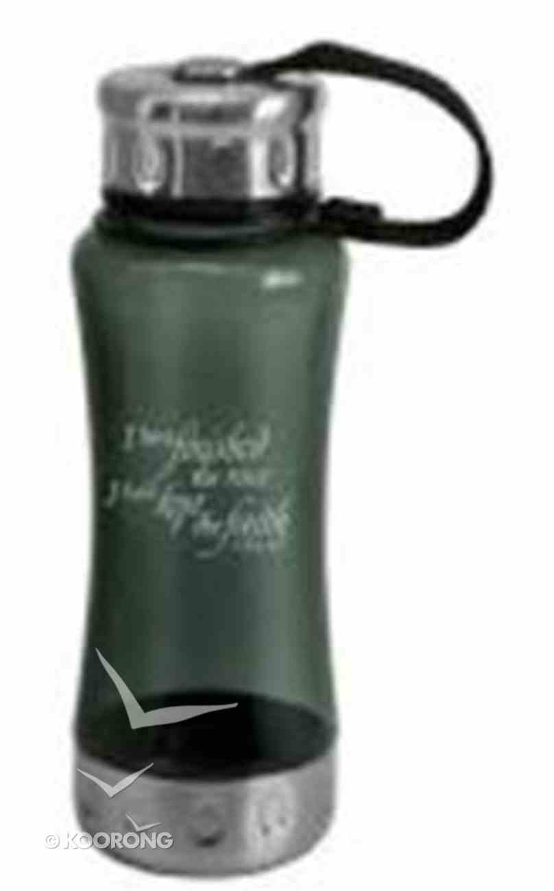 Water Bottle 600ml: Charcoal I Have Finished (Cold Drinks Only) Homeware