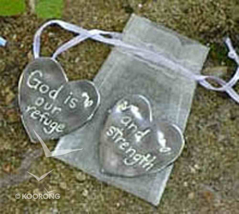 Scripture Token: God is Our Refuge and Strength Jewellery