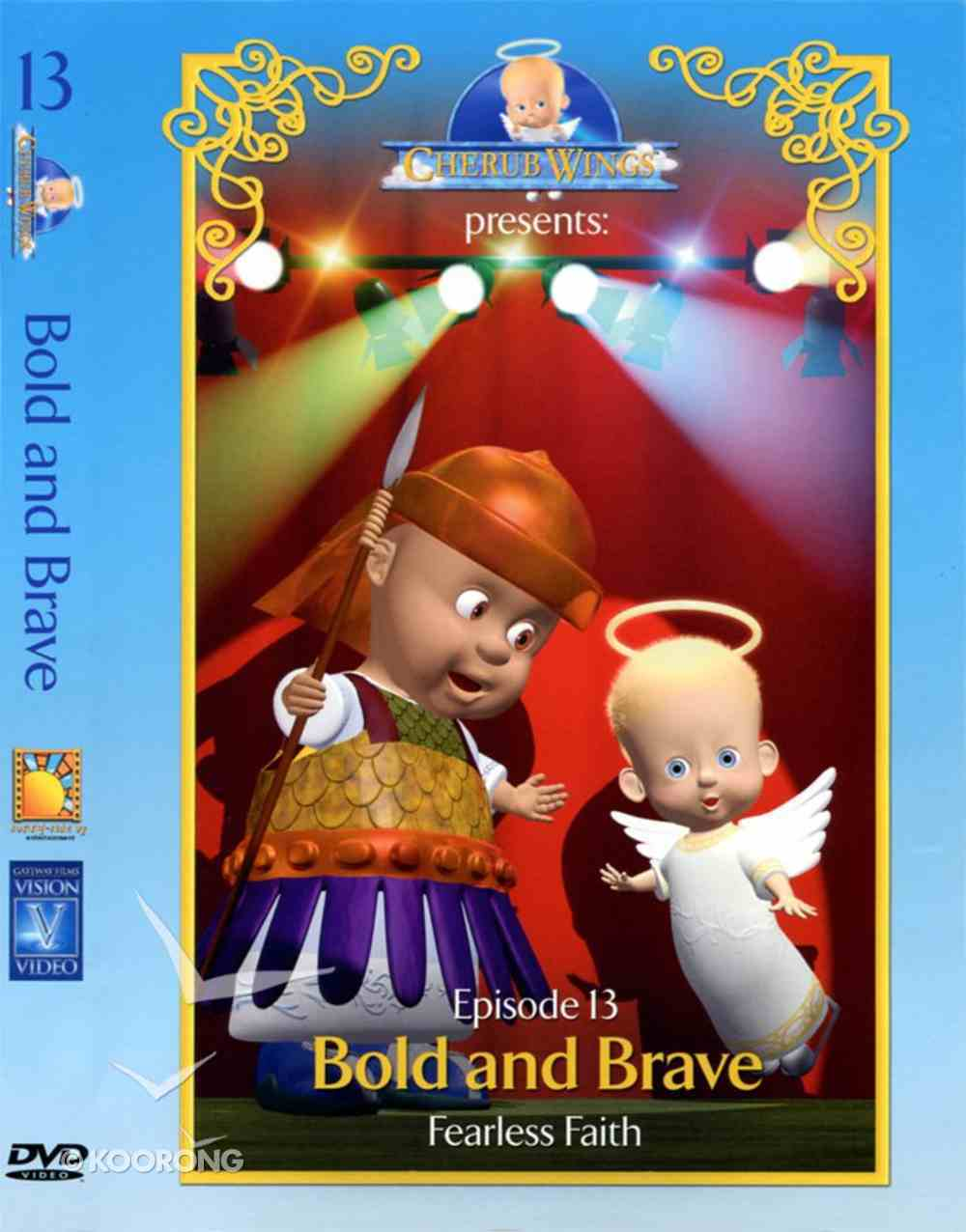Bold and Brave (#13 in Cherub Wings (Dvd) Series) DVD