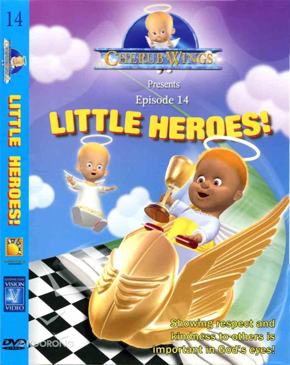 Little Heroes (#14 in Cherub Wings (Dvd) Series) DVD