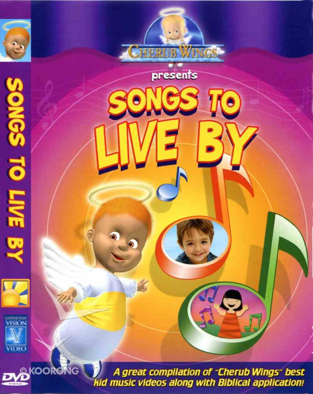 Songs to Live By (Cherub Wings (Dvd) Series) DVD