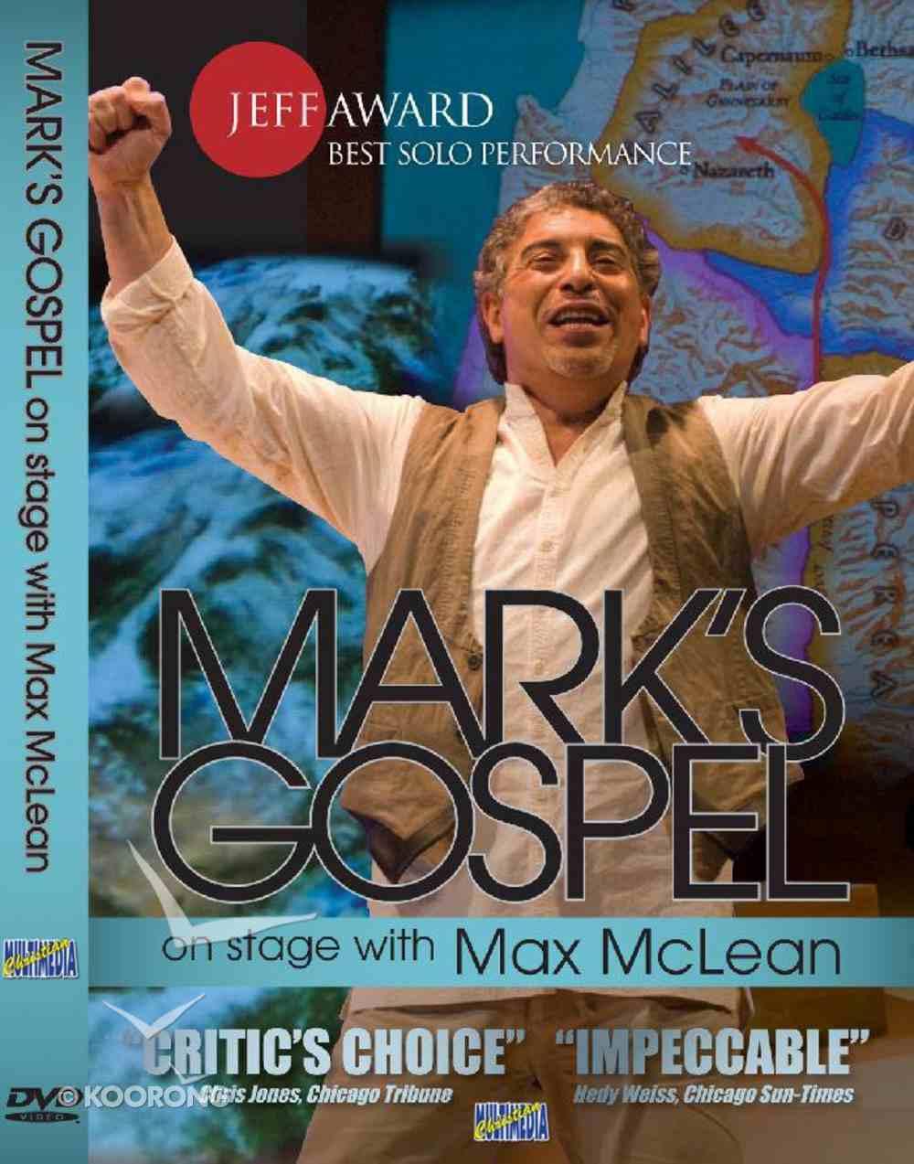 Mark's Gospel With Max Mclean DVD