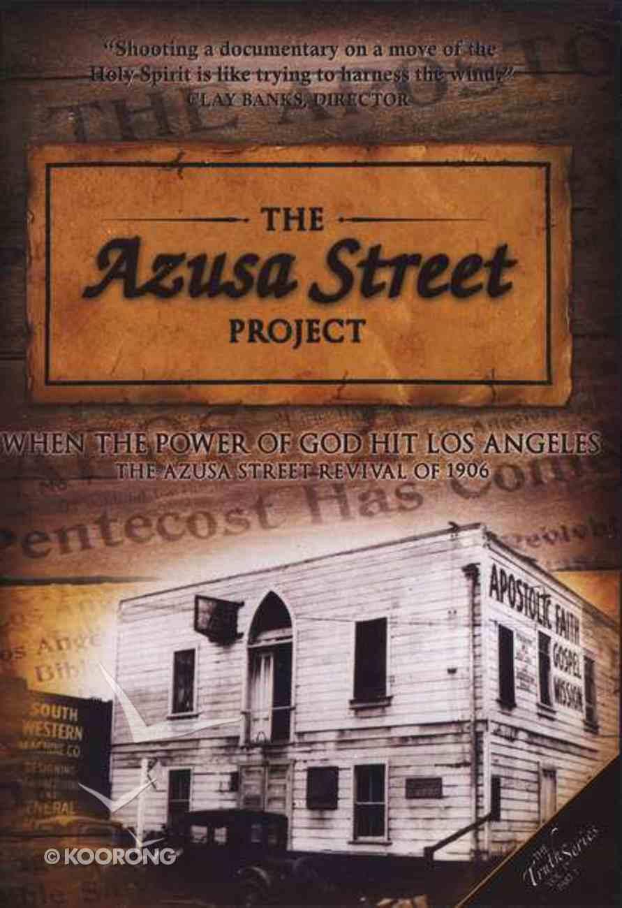 The Azusa Street Project DVD
