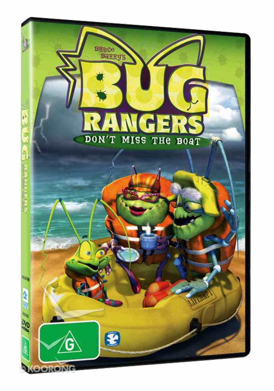 Bug Rangers: Don't Miss the Boat DVD