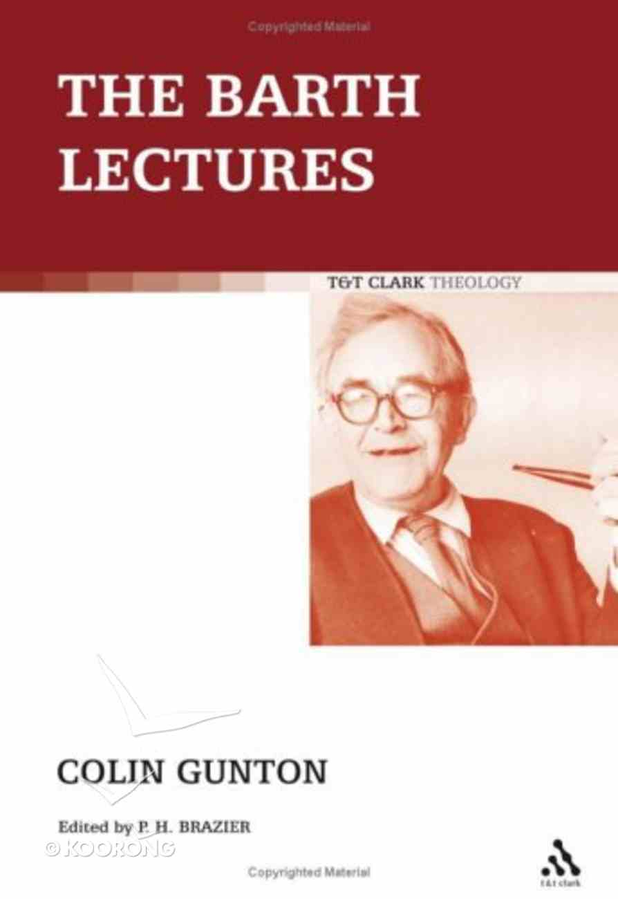 Barth Lectures Paperback
