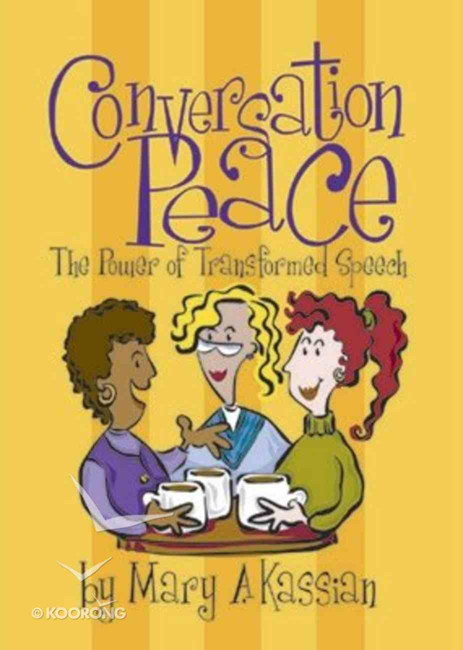 Conversation Peace (Member Book) Paperback