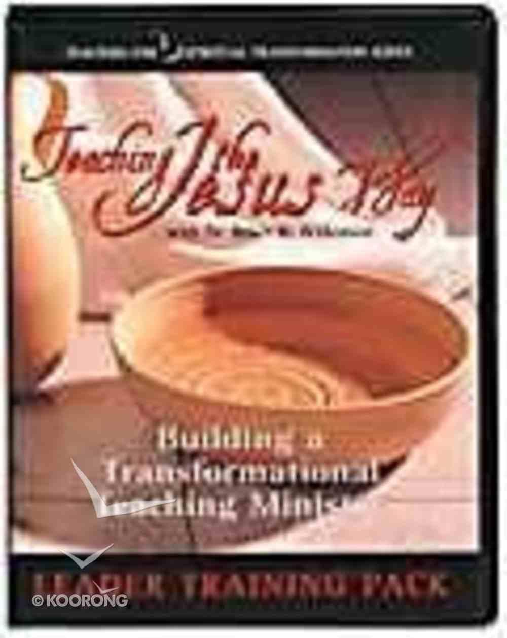 Teaching the Jesus Way (Leader Training Pack) Pack