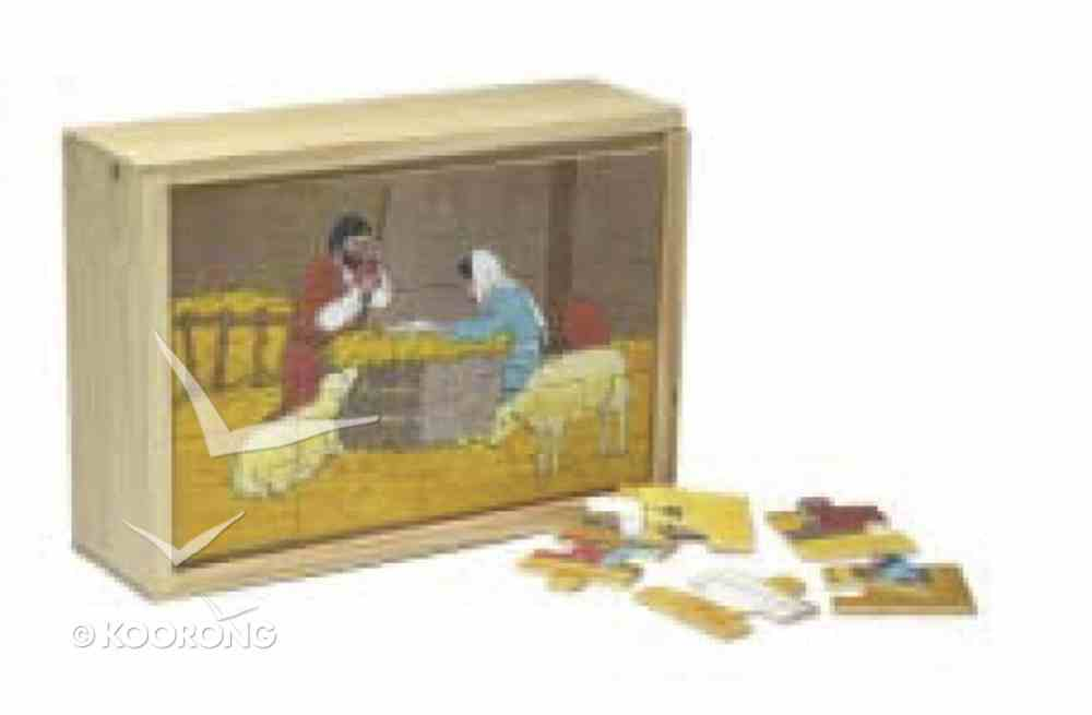 Life of Jesus Wooden Box Puzzle (Set Of 4) Game