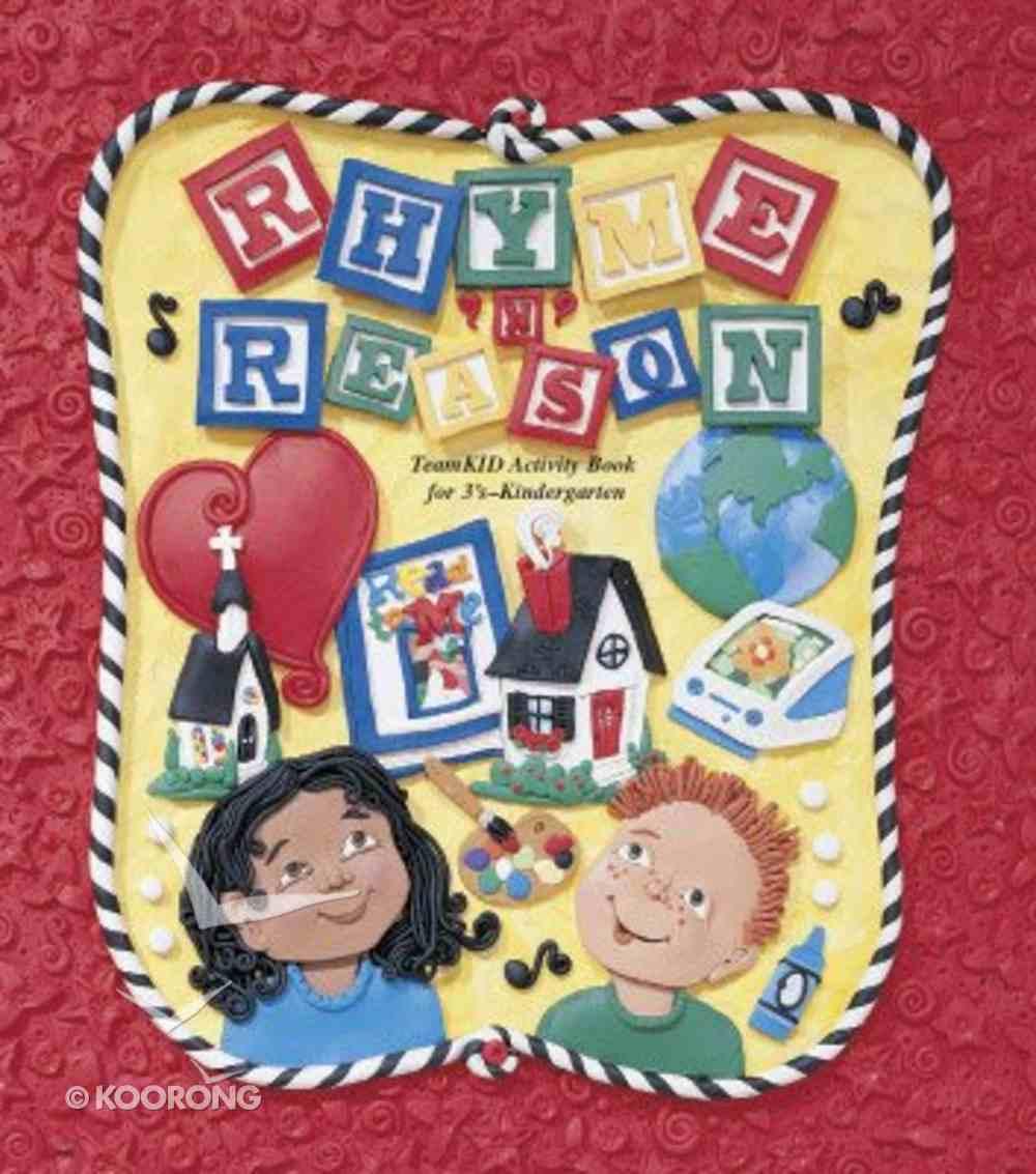 Teamkid Preschool: Rhyme 'N' Reason Activity Book Paperback