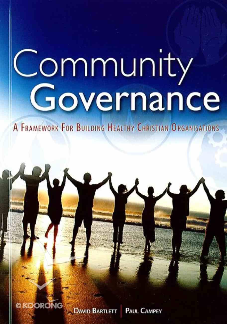 Community Governance Paperback