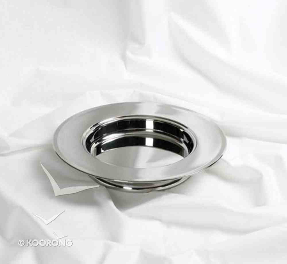 Communion Stacking Bread Plate Silver Church Supplies
