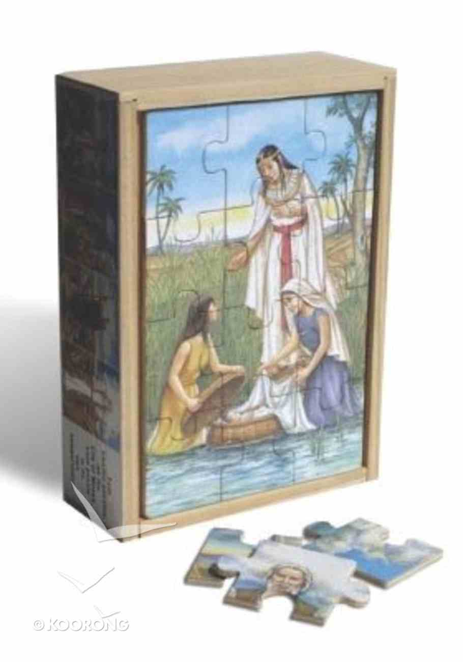 Life of Moses Wooden Box Puzzle (Set Of 4) Game
