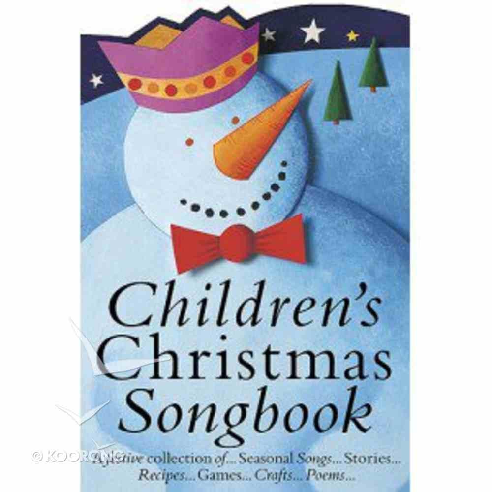 Children's Christmas Songbook Paperback