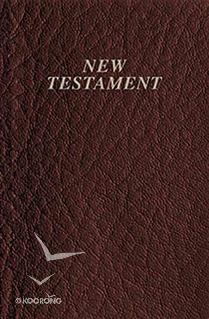 KJV Vest Pocket New Testament Burgundy (Red Letter Edition) Imitation Leather