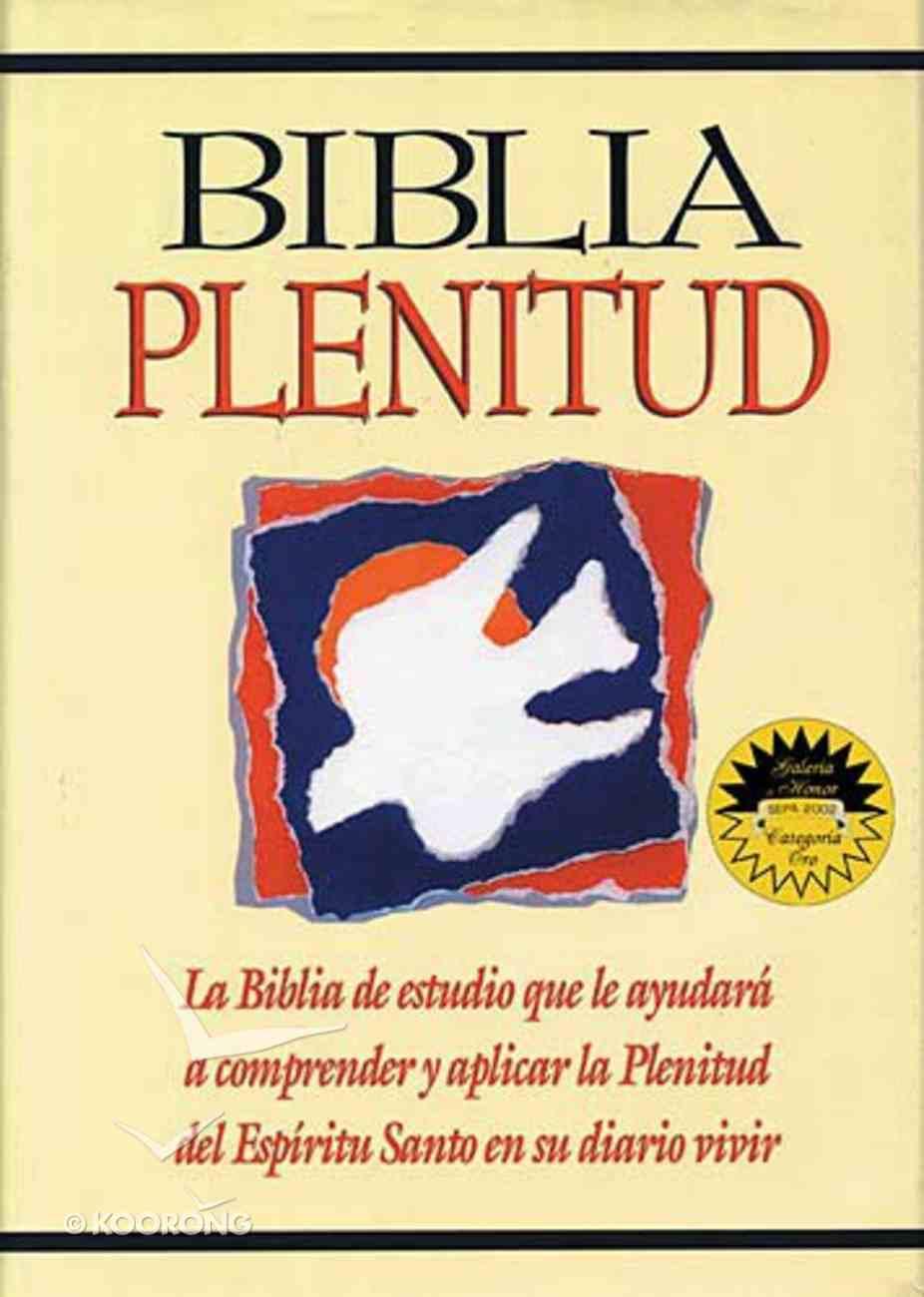 Rvr 1960 Biblia Plenitud Black (Red Letter Edition) (Spirit Filled Life Bible) Bonded Leather