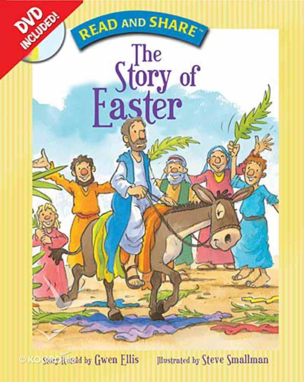 The Story of Easter (With DVD) (Read And Share Series) Hardback