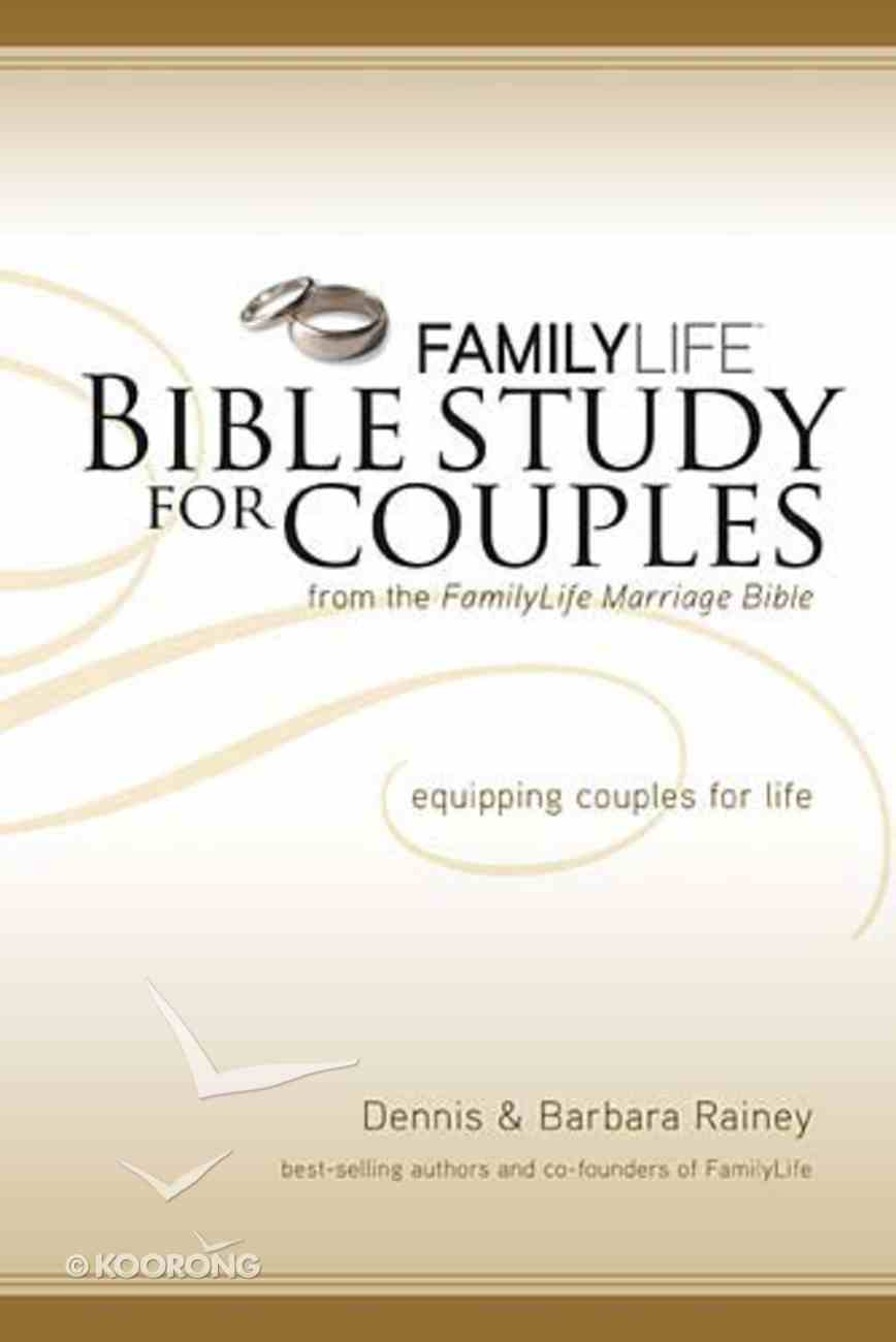 Family Life Bible Study For Couples Paperback