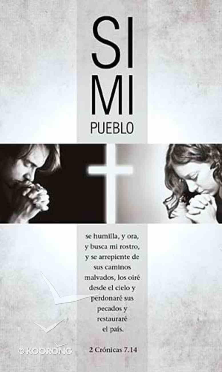 Si Mi Pueblo (If My People) Paperback