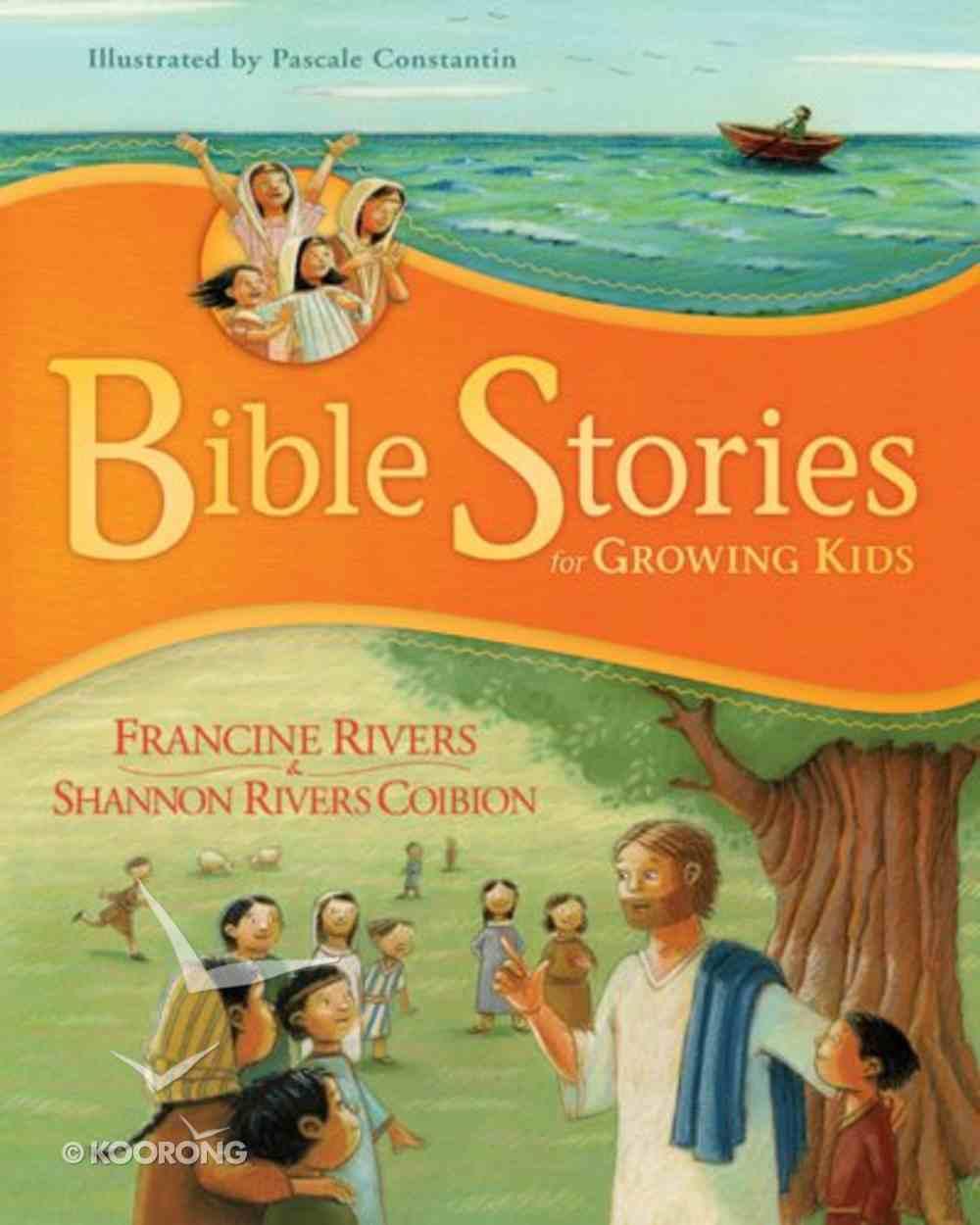 Bible Stories For Growing Kids Hardback