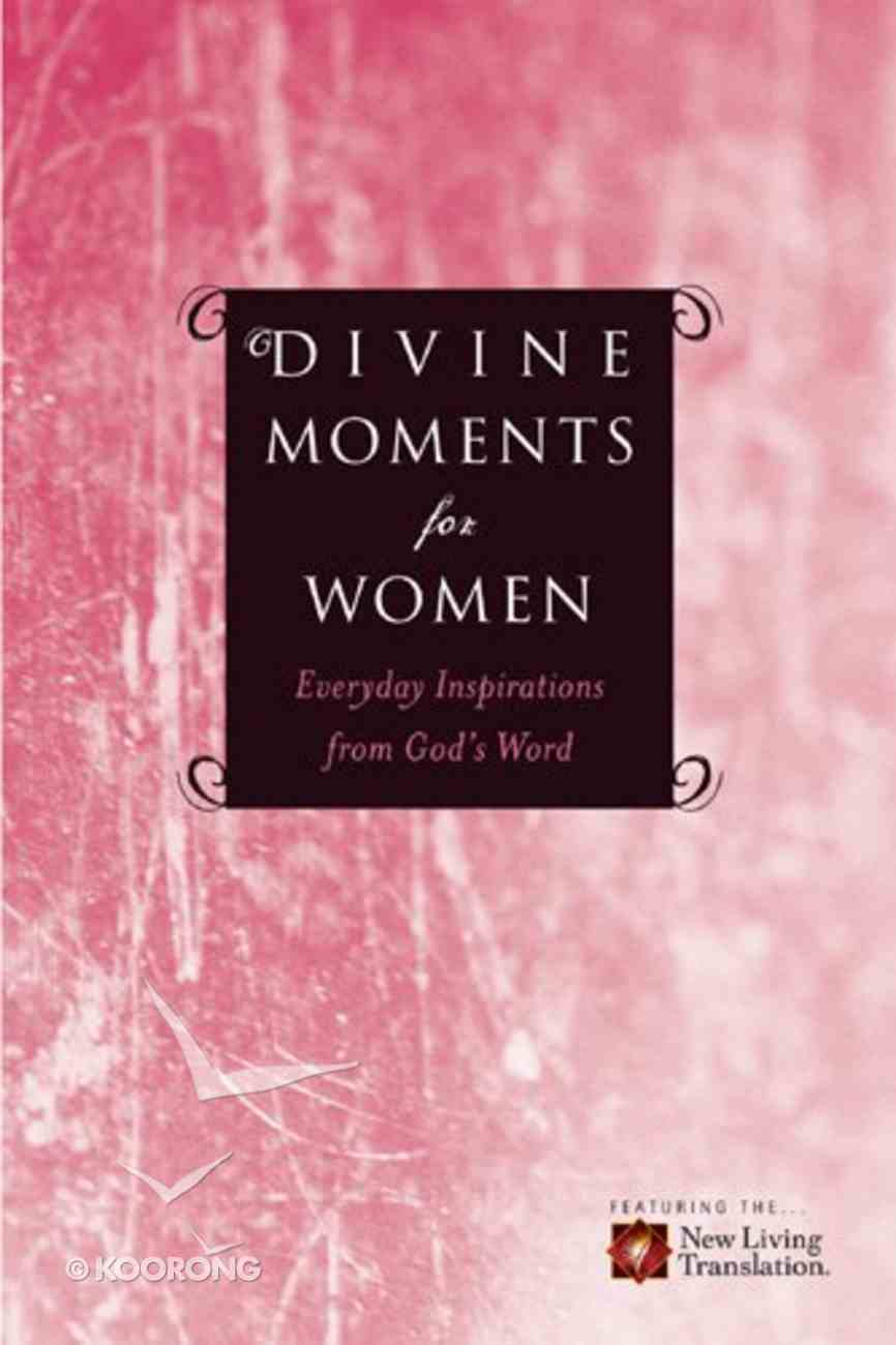 Divine Moments For Women Paperback