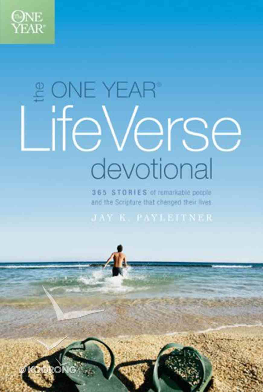 Life Verse Devotional (One Year Series) Paperback