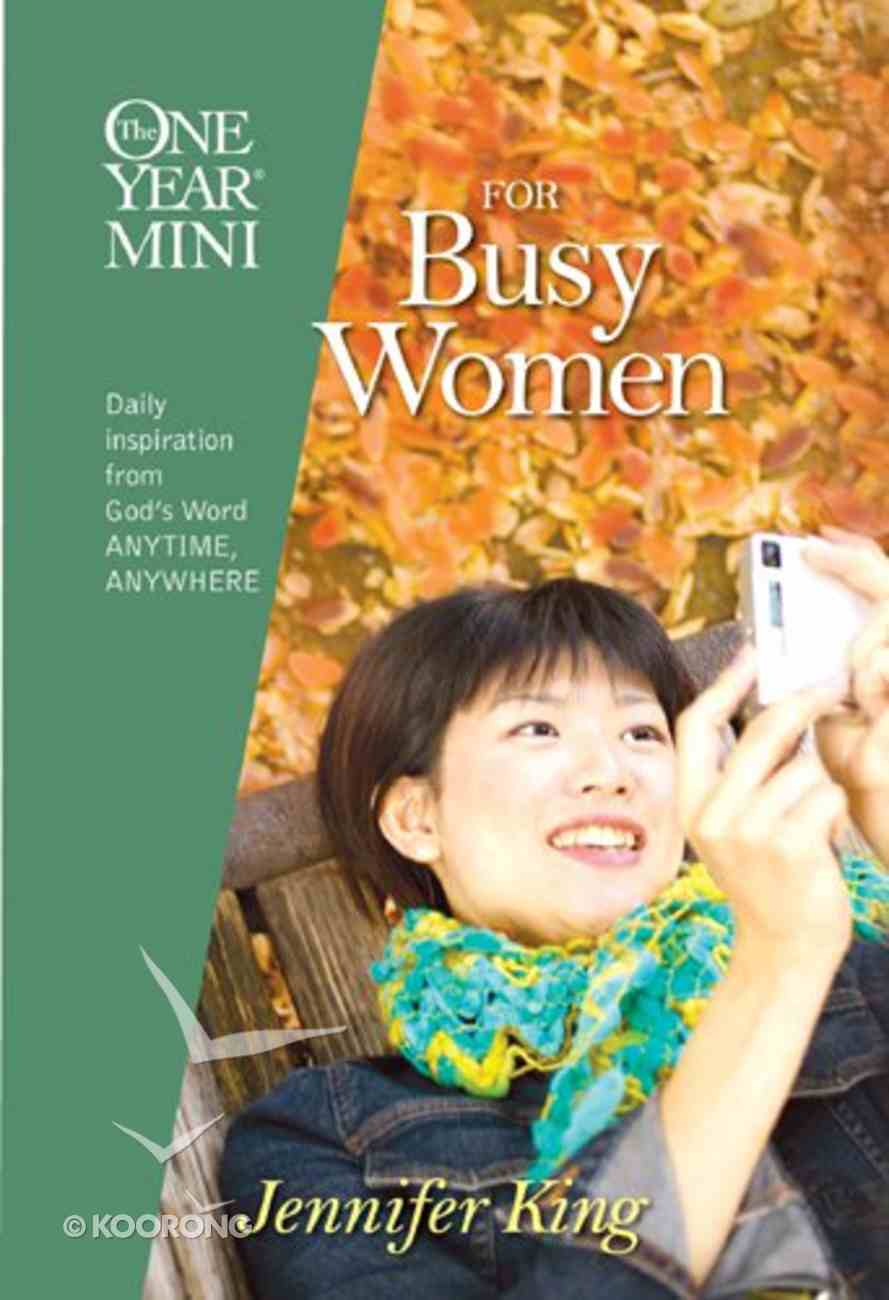 One Year Mini For Busy Women (One Year Minis Series) Hardback