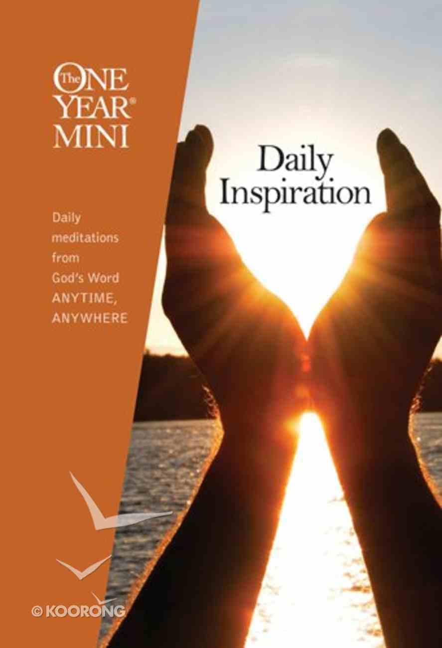 One Year Mini Daily Inspiration Hardback