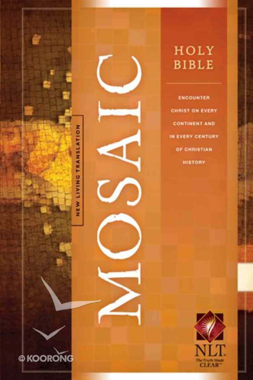 NLT Mosaic Holy Bible (Black Letter Edition) Hardback