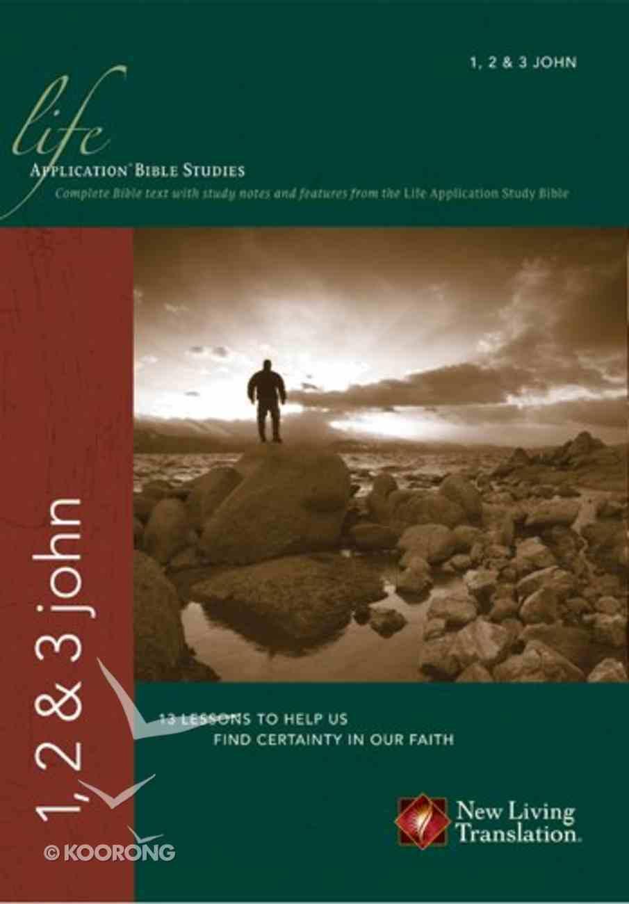 NLT 1, 2, & 3 John (Life Application Bible Study Series) Paperback
