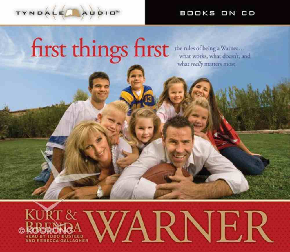 First Things First CD