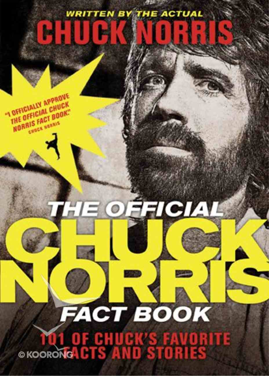 The Official Chuck Norris Fact Book Paperback