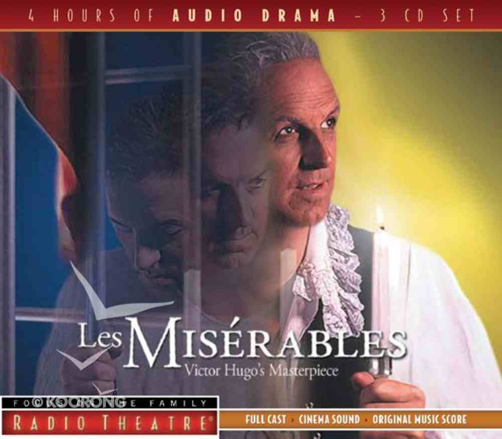 Radio Theatre: Les Miserables (3 Cds) CD