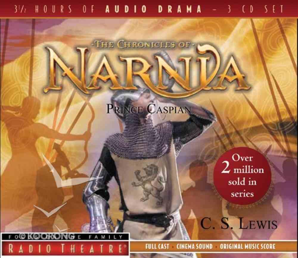 Radio Theatre: Prince Caspian (3 Cds) CD