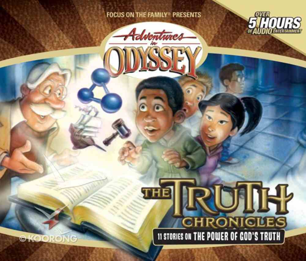 The Truth Chronicles (4 CDS) (Adventures In Odyssey Audio Series) CD