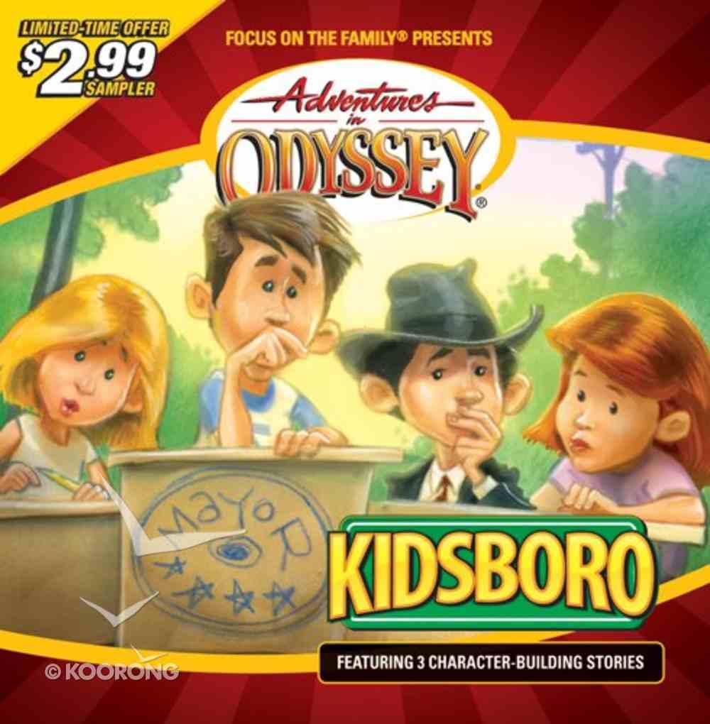Kidsboro (60 Mins) (Adventures In Odyssey Audio Series) CD