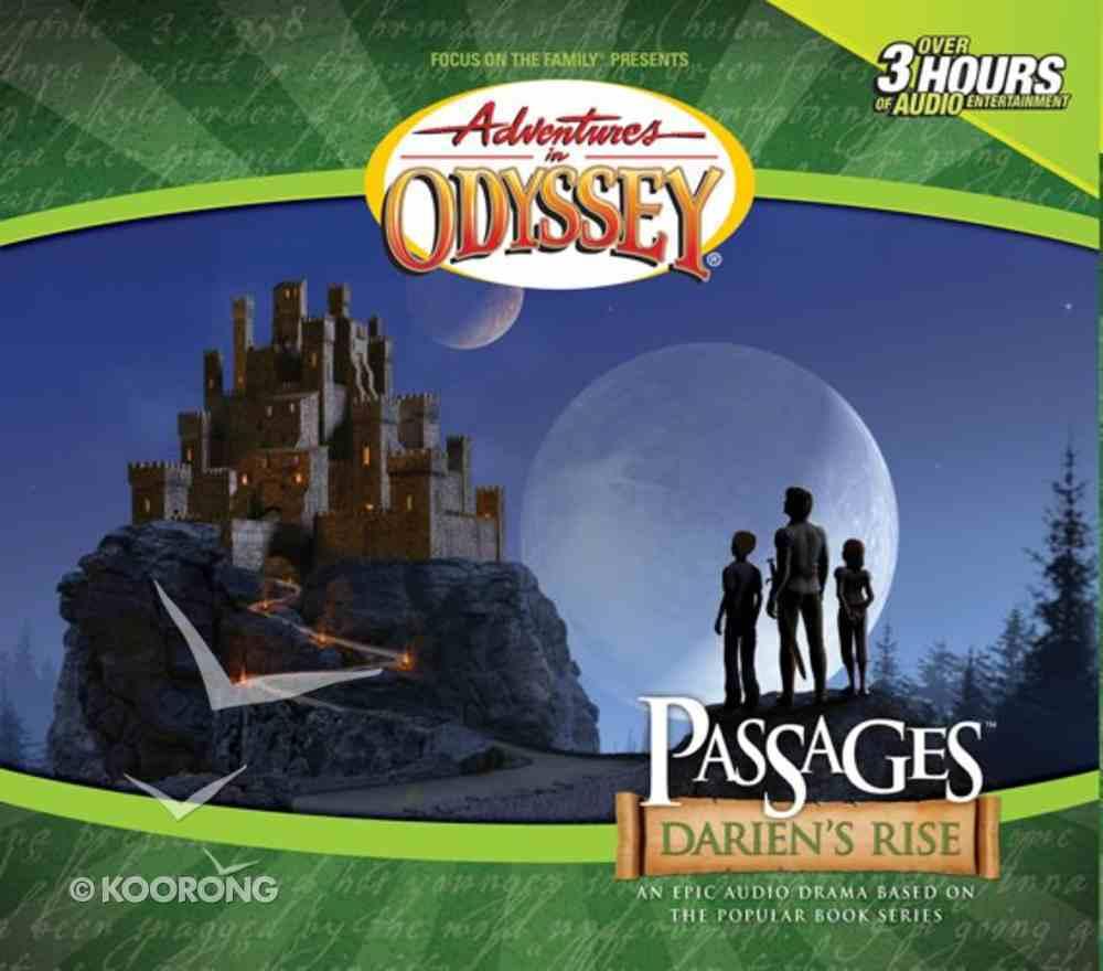 Passages: Darien's Rise (Adventures In Odyssey Audio Series) CD