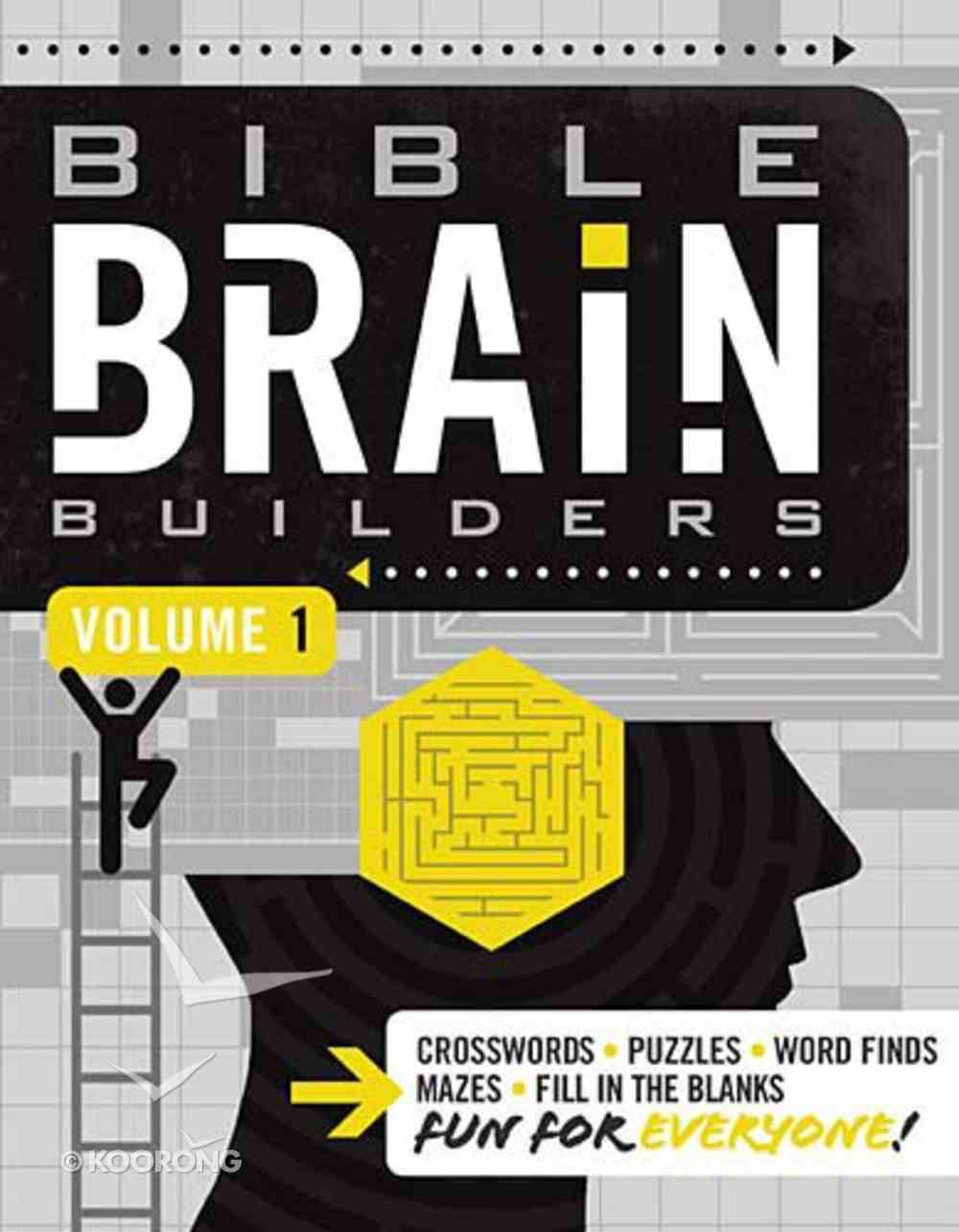 Bible Brain Builders Volume 1 (#01 in Bible Brain Builders Series) Paperback