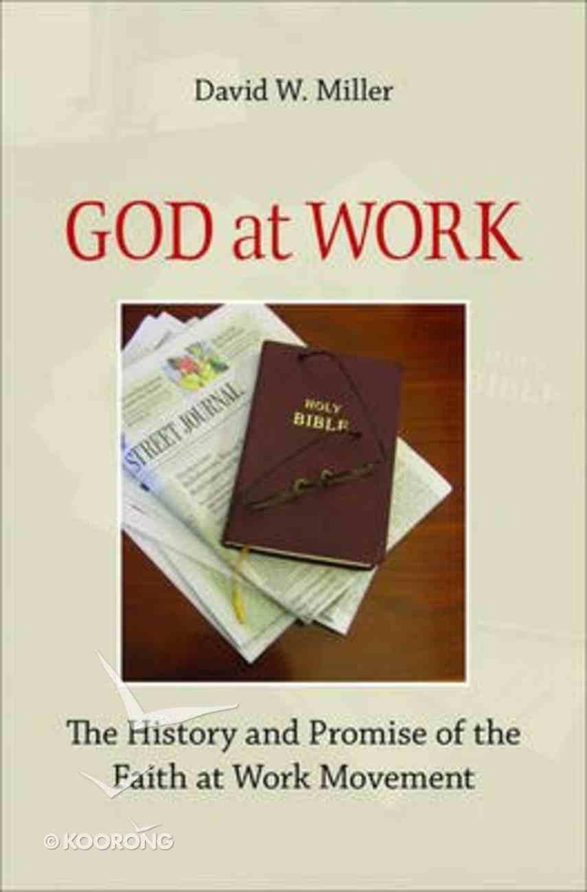 God At Work Hardback