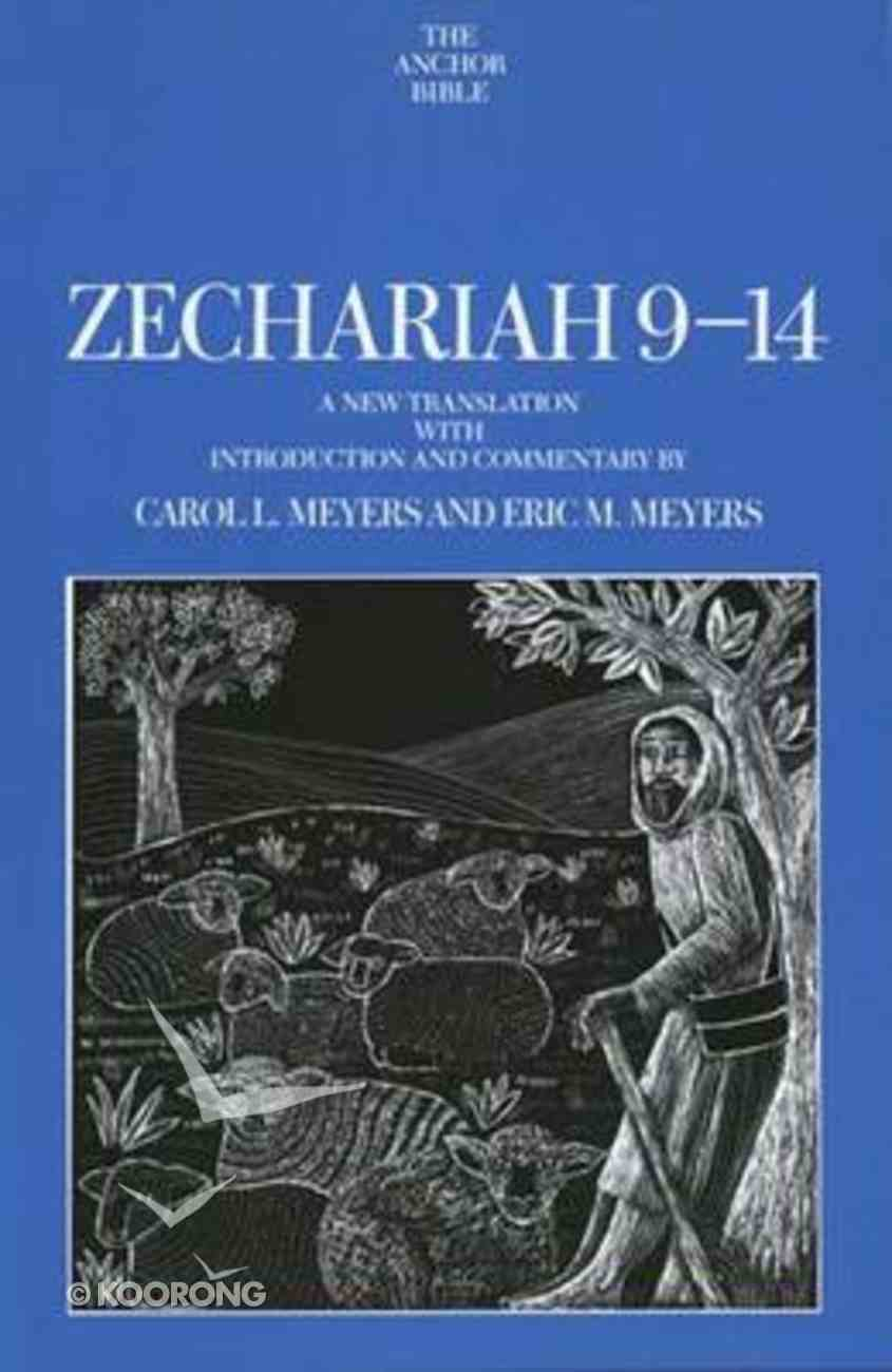 Zechariah 9-14 (Anchor Yale Bible Commentaries Series) Hardback