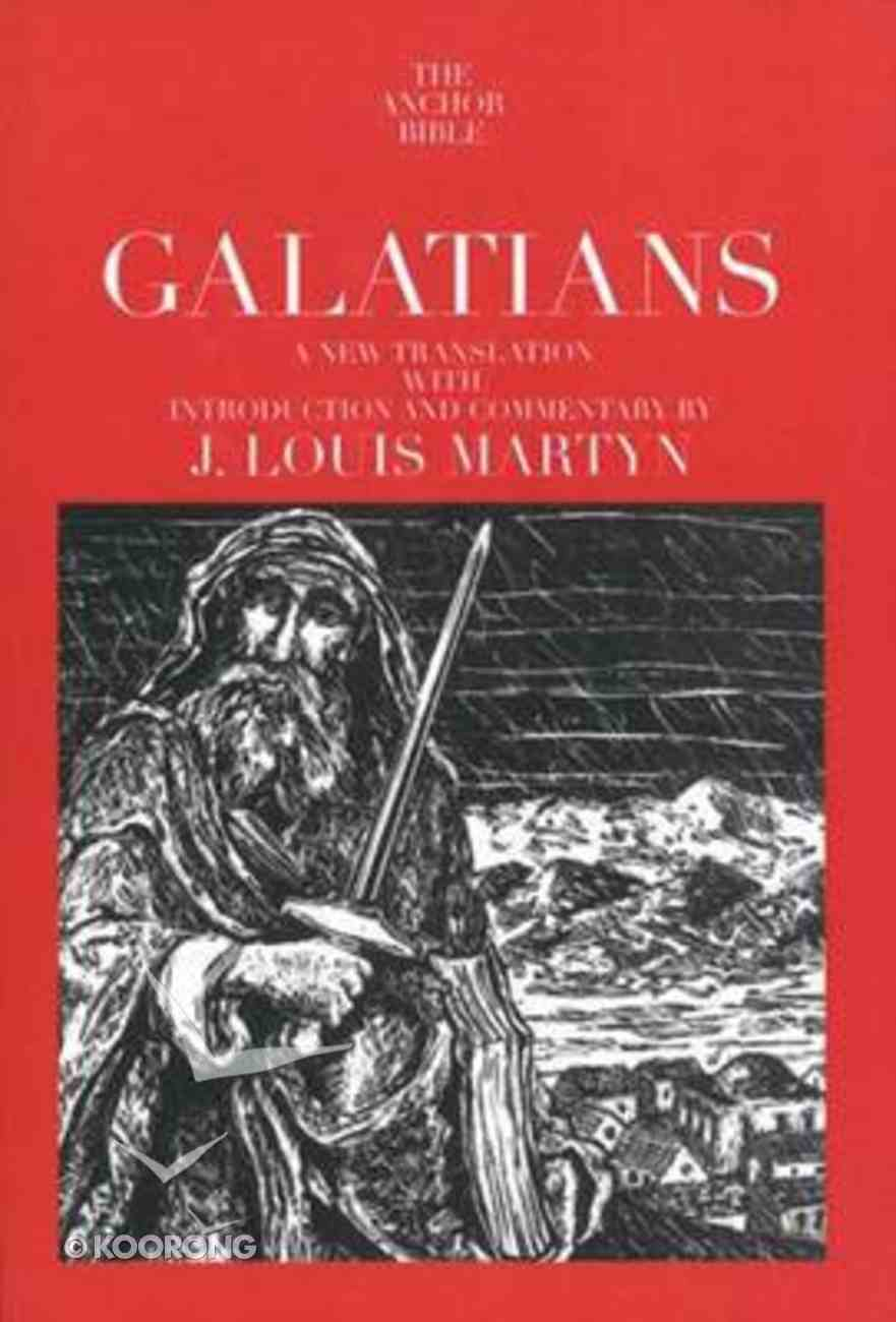 Galatians (Anchor Yale Bible Commentaries Series) Paperback