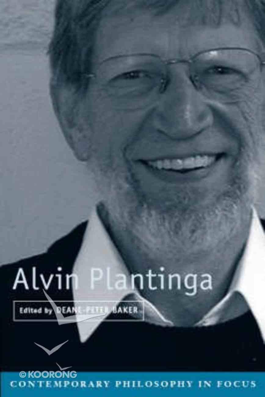 Alvin Plantinga Paperback