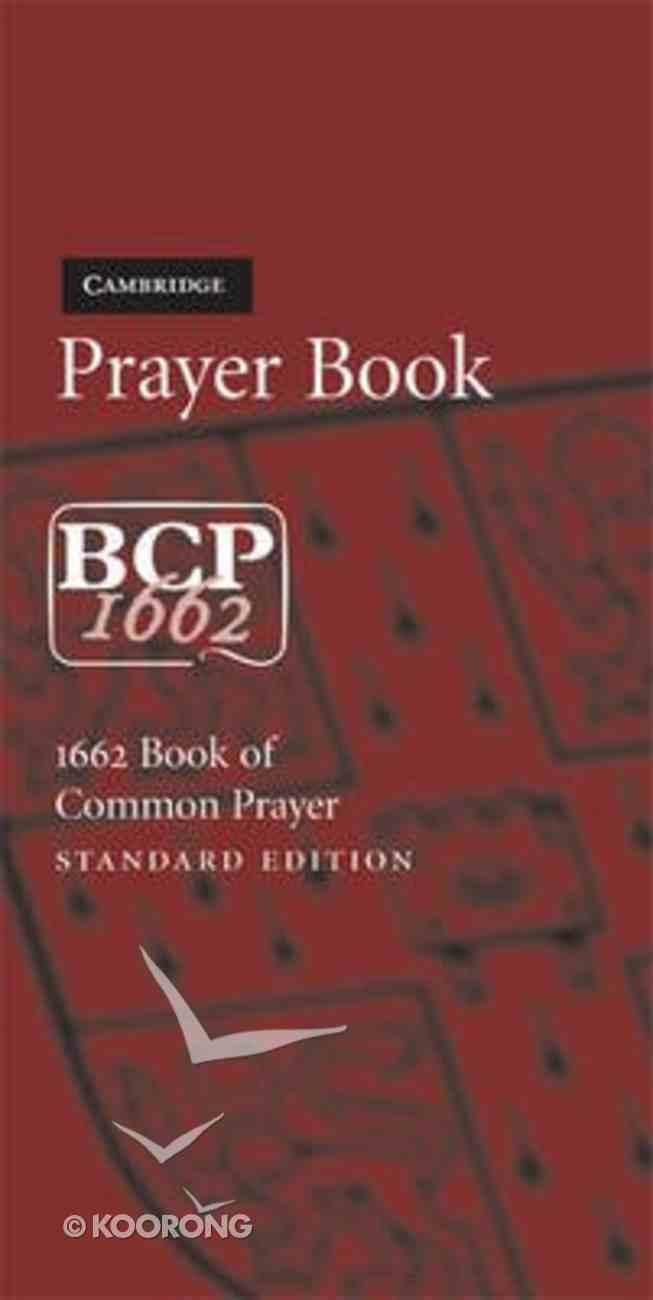 Book of Common Prayer Standard Edition Burgundy Imitation Leather