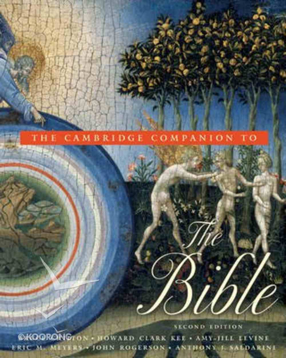 The Cambridge Companion to the Bible (2nd Edition) Paperback