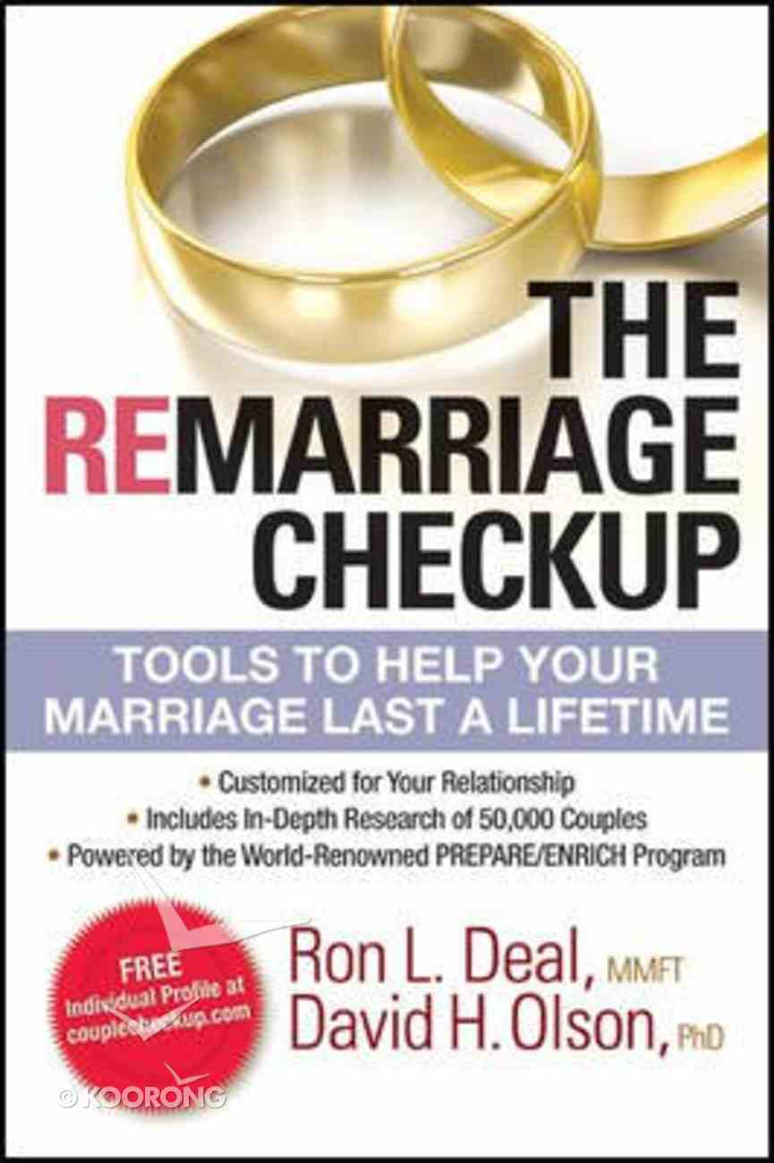 The Remarriage Checkup Paperback